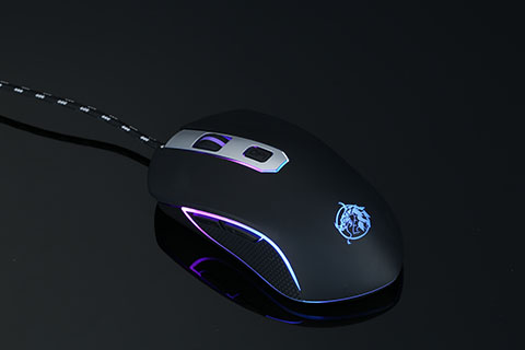 6 Button Wired RGB Gaming Mouse, Customizable RGB, Macro   Software.