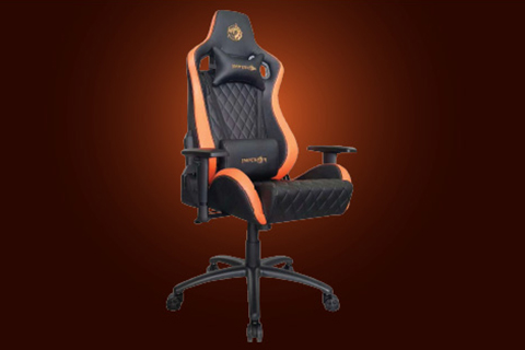 Molded Seat, PVC leather, Butterfly mechanism, Rocking motion,180 degrees.